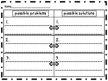 Realistic Fiction Unit Planning Pages
