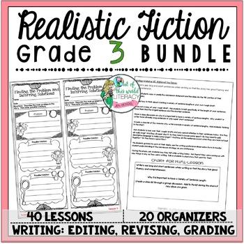 Realistic Fiction Unit of Study: Grade 3 BUNDLE