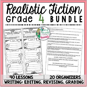 Realistic Fiction Unit of Study: Grade 4 BUNDLE
