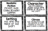 Realistic Fiction Vocabulary Words