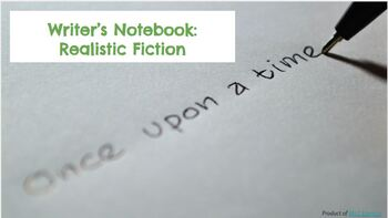 Realistic Fiction Writer's Notebook