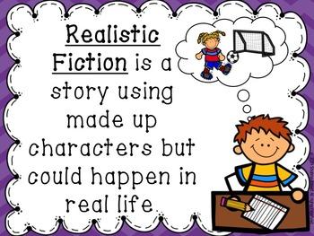 Realistic Fiction Writing C.C.L.S Aligned