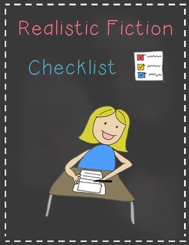 Realistic Fiction Writing Checklist