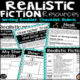 Realistic Fiction Resources, Checklist, and Rubric