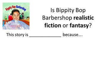 Realistic Fiction or Fantasy?