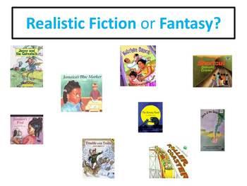 Realistic Fiction or Fantasy?