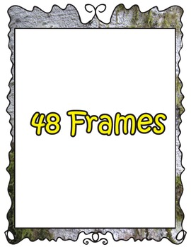 48 Realistic Nature Frames for PERSONAL or COMMERCIAL use.