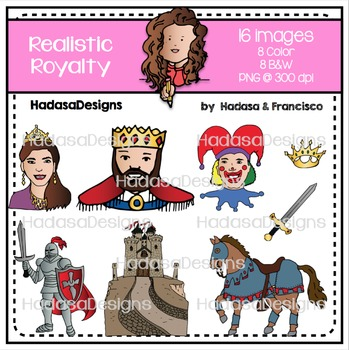 Realistic Royalty Clip Art Set