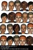 Realistic Teen Emotions Expressions Clip Art from Away Wit