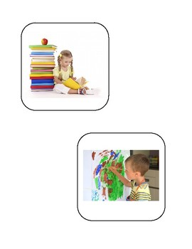 Realistic Verb Card Big Bundle!