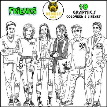Friends Clipart