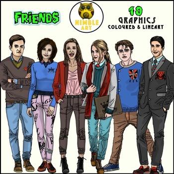 Friends (school kids version)