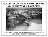 Realities of War: A World War I Gallery Walk Exercise