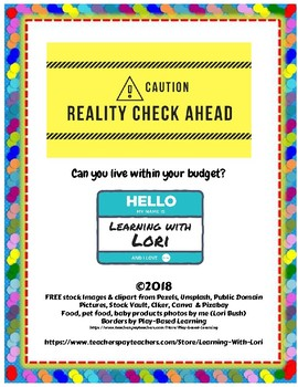 Reality Check Ahead - Can you live within your budget?
