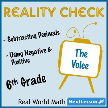 Performance Task - Subtract Decimals & Absolute Value - Re