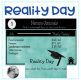 Reality Day: A Taste of the Real World Career Activity