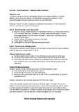 English Lesson Plan - Reality TV YouTube Unit - Week One - Grades 9/10/11/12