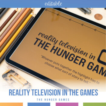 Reality Television in The Hunger Games