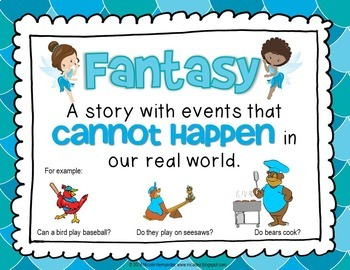 Reality and Fantasy - {Posters for Every Classroom}