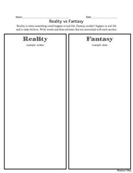 Reality vs Fantasy