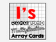 Really Awesome Rekenrek Array Cards