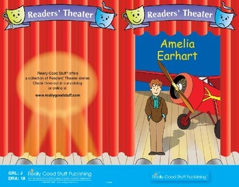 Really Good Readers' Theater:   Amelia Earhart
