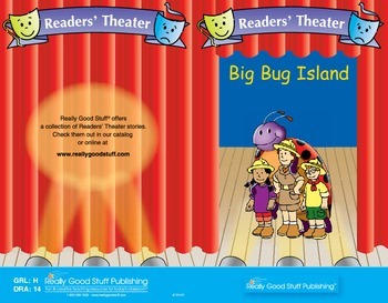 Really Good Readers' Theater:  Big Bug Island