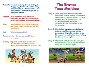Really Good Readers' Theater:   Bremen Town Musicians