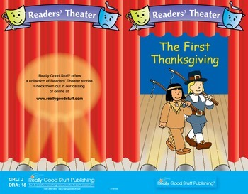 Really Good Readers' Theater:  First Thanksgiving