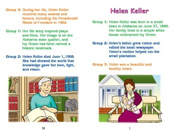 Really Good Readers' Theater:   Helen Keller