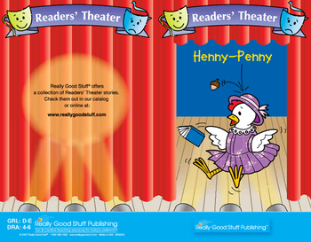 Really Good Readers' Theater: Henny-Penny Book