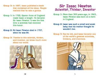 Really Good Readers' Theater:   Isaac Newton