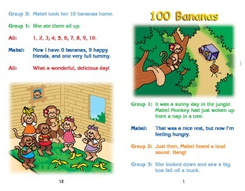 Really Good Readers' Theater:  One Hundred Bananas