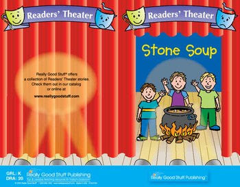 Really Good Readers' Theater: Stone Soup Book