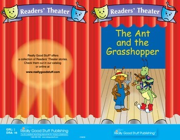 Really Good Readers' Theater:  The Ant and the Grasshopper