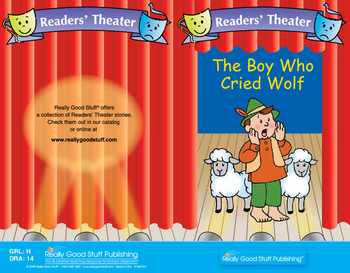 Really Good Readers' Theater: The Boy Who Cried Wolf Book