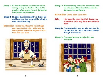 Really Good Readers' Theater:  The Elves and the Shoemaker