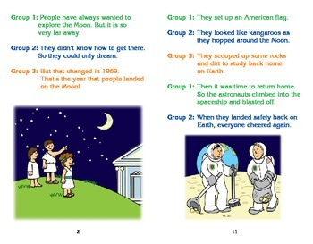 Really Good Readers' Theater:  The First Moon Landing