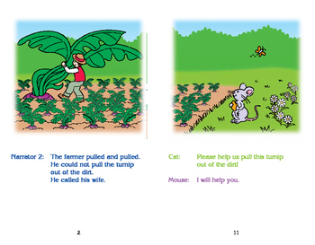 Really Good Readers' Theater: The Giant Turnip Book
