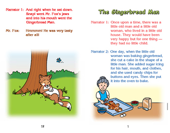 Really Good Readers' Theater: The Gingerbread Man Book