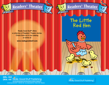 Really Good Readers' Theater: The Little Red Hen Book