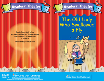 Really Good Readers' Theater: The Old Lady Who Swallowed A Fly Book