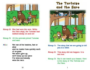 Really Good Readers' Theater: The Tortoise and the Hare