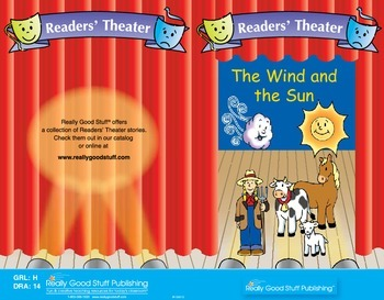 Really Good Readers' Theater:  The Wind and the Sun