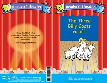 Really Good Readers' Theater:  Three Billy Goats Gruff