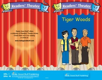 Really Good Readers' Theater:   Tiger Woods