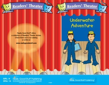 Really Good Readers' Theater:   Underwater Adventure
