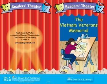 Really Good Readers' Theater:  Vietnam Memorial