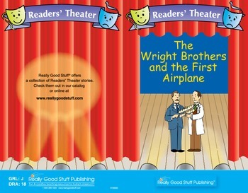 Really Good Readers' Theater:  Wright Brothers and the First Airplane