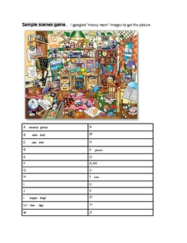 Really fun vocabulary game for any language class!